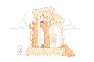 Image of the Three Pillars of Human Health